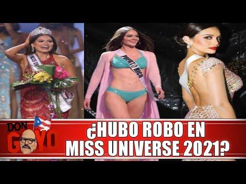 ¿Se robaron la corona en Miss Universe 2021