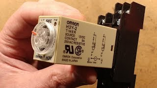 Fake Omron timer relay.  (Actually quite well made.)