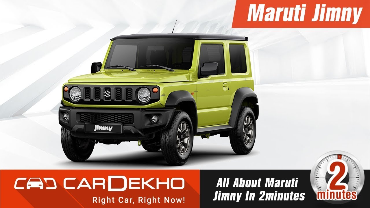 New 2018 Maruti Suzuki Jimny | Features, Specs, Price, Launch Date and More! #In2Mins