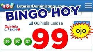 RESULTADOS de HOY..!! (( 99 )) BINGO hoy..!! Loteria LEDSA de HOY/ GANAR LAS LOTERIAS MÁS PARA HOY