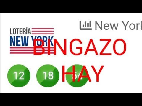 NUMEROS PARA HOY(12)BINGAZO MI GENTE EN LA NUEVA YORK DIAS