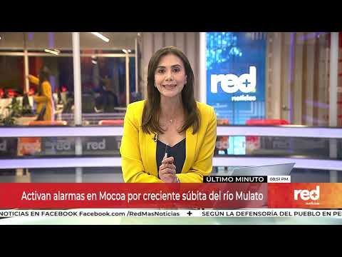 Red+   Activan alarmas en Mocoa por creciente súbita del río Mulato