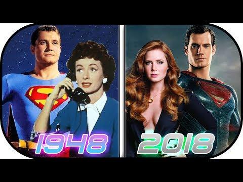 EVOLUTION of Lois Lane in Movies & TV (1948-2018) Lois Lane Clark Kent Superman History