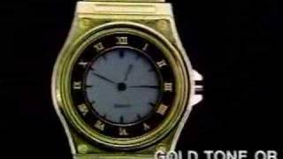 video of Laserbeam wristwatch Ads