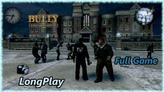 Bully - Longplay Full Game Walkthrough (Scholarship Edition) (No Commentary)