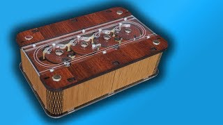 Amazing Puzzle Box - Viking Box!