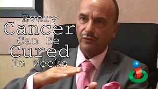 Every Cancer Can be Cured in Weeks explains Dr. Leonard Coldwell