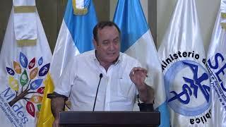Presidente Giammattie inaugura distribución de alimento fortificado para 200 mil niños (23/01/2021)