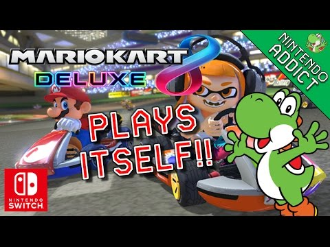 Mario Kart 8 Plays Itself | All Courses 200cc Smart Steering Comparison | Mario Kart 8 Deluxe