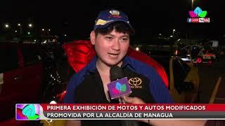 Primera exhibición de moto y autos modificados promovida por la Alcaldía de Managua