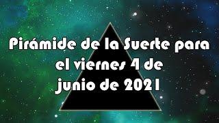 Lotería de Panamá - Pirámide para el viernes 4 de junio de 2021