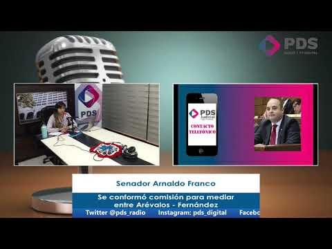 Entrevista - Senador Arnaldo Franco - Se conformó comisión para mediar entre Arévalos - Fernández