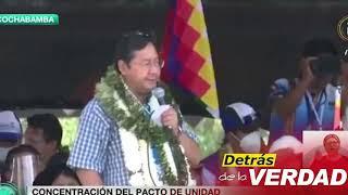 """Luis Arce: """"Los que perdieron en las urnas hoy siguen confabulando y maquinando un golpe de estado"""""""