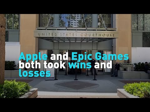Apple and Epic Games both took wins and losses