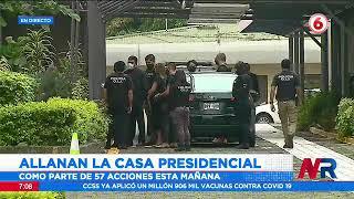 Allanan casa presidencial por investigación de posible tráfico de influencias
