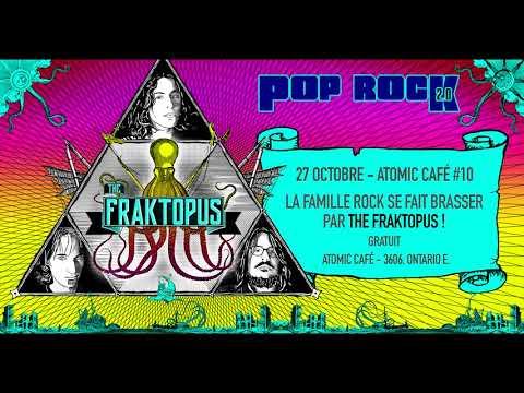 The Fraktopus en show ce vendredi à l'Atomic Cafe !