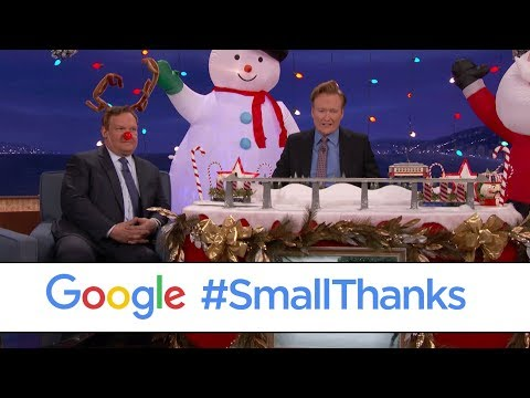 connectYoutube - Conan's #SmallThanks Holiday Lights Pit Crew