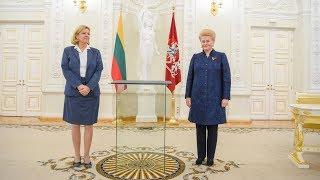 Prezidentė dalyvauja Vasario 16-osios Nepriklausomybės Akto perdavimo Lietuvai ceremonijoje