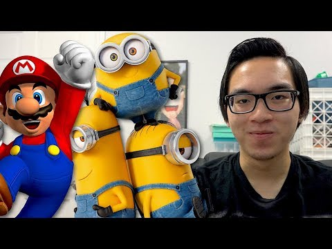 Mario + Minions CROSSOVER? - Nintendo 2018 Announcements!