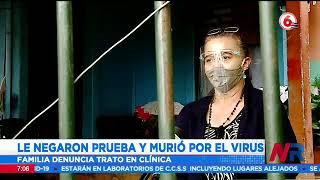 Le negaron a prueba Covid 19 a un adulto mayor que murió días después por el virus