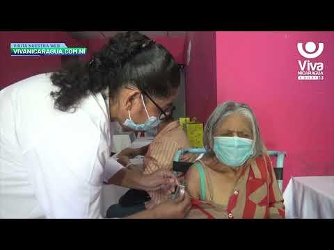 Aplican segunda dosis de la vacuna Covishield en Chinandega