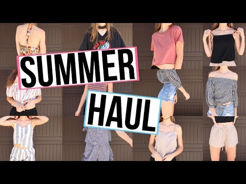 TRY ON SUMMER HAUL!