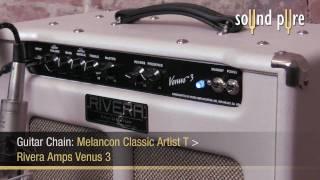 Rivera Amps Venus 3 Guitar Amp w/ Melancon Classic Artist T