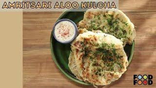 Amritsari Aloo Kulcha | अमृतसरी आलू कुलचा | FoodFood - FOODFOODINDIA