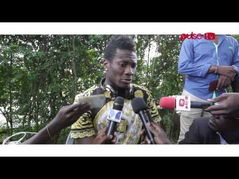 Video: Ghana striker Asamoah Gyan talks about his first season in China