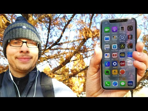 What's on my iPhone X November 2017?