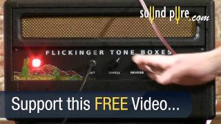 Flickinger Tone Boxes Spaghetti Western Spring Reverb Unit Part One