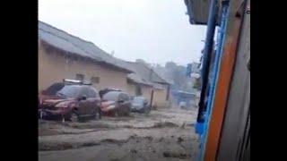 Afectaciones tras las fuertes lluvias