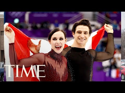 connectYoutube - Tessa Virtue And Scott Moir Respond To Those Internet Relationship Theories | TIME