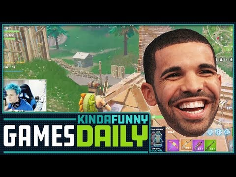 connectYoutube - Drake Causes New Twitch Record-  Kinda Funny Games Daily 03.15.18