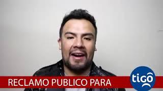 Reclamo a la Empresa Tigo de parte del ciudadano Alejandro Moreira