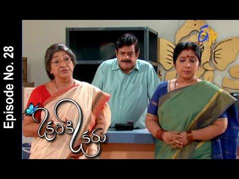 Okariki Okaru   8th June 2017   Full Episode No 28   ETV Telugu   cinevedika.com