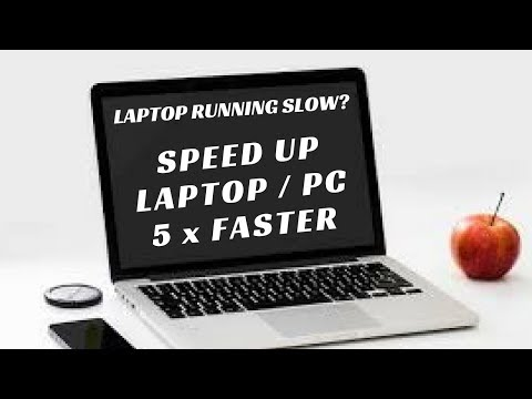 How to Speed Up Laptop / Computer at Home