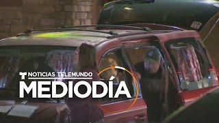 Trece autos reciben disparos de armas de aire comprimido en plena autopista   Noticias Telemundo