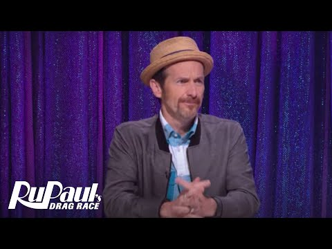 Snatch Game with Denis O'Hare & Candis Cayne! | RuPaul's Drag Race Season 9 | VH1