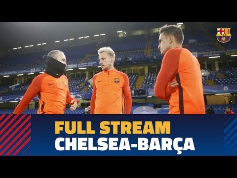 Live from Stamford Bridge: Press conference and training