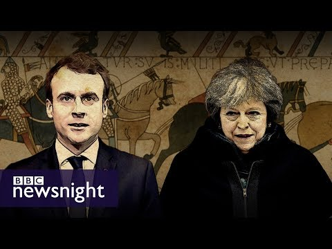 connectYoutube - The Bayeux Tapestry and Anglo-French relations - BBC Newsnight