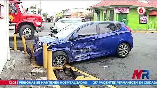 Aumento de accidentes de tránsito preocupa a las autoridades