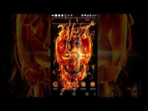 Fire Skull Theme 115 Download Apk For Android Aptoide