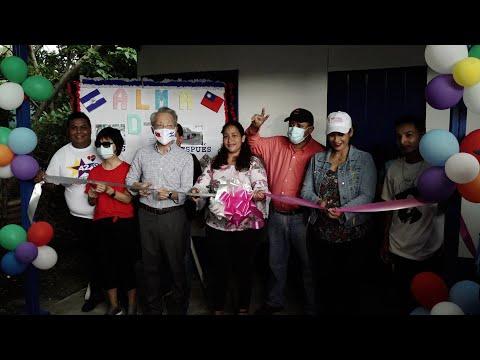 Protagonista del barrio Las Maravillas en Managua estrena vivienda digna