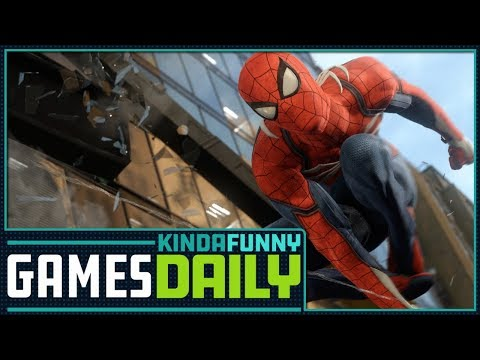 How Close Is Spider-Man PS4? - Kinda Funny Games Daily 01.09.18