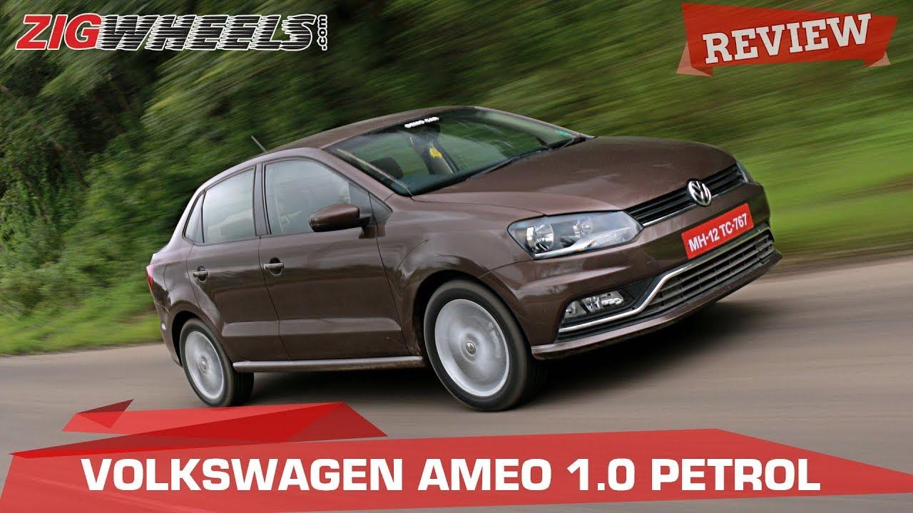 Volkswagen Ameo 1-Litre Petrol review | Slow, but nice? | ZigWheels.com