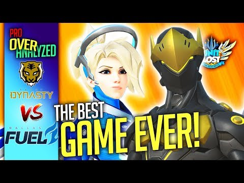 connectYoutube - Overwatch - The GREATEST Game EVER! Seoul Dynasty Vs Dallas Fuel [Pro OverAnalyzed]