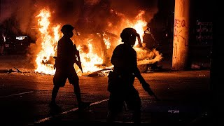 George Floyd protests: Unrest escalates in demonstrations in more than 30 US cities