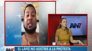 El Lápiz no asistirá a las protestas en la Plaza de la Bandera