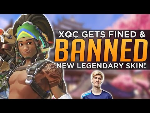 Overwatch: NEW Lucio Legendary Skin! - xQc BANNED from OWL Stage 1